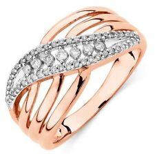 Diamond Rose Gold 10k Fine Rings