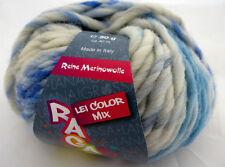 Lana Grossa Ragazza Lei Color Mix 50g Fb 261 Hellblau/Natur/Grau/Blau