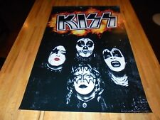 KISS ( Originals Style ) Poster 24 X 36 Out of Print   Ace Frehley Gene Simmons