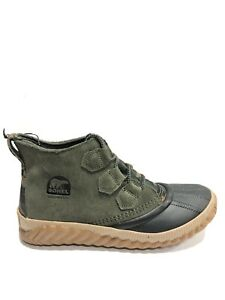 Sorel Women's Out N About Plus, Waterproof Leather Booties, Size 8M.