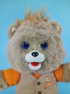 2017 Teddy Ruxpin Plush Animated Talking Storytime Bear USB Bluetooth LED Eyes