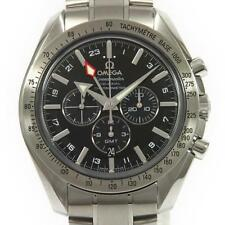 Authentic OMEGA REF.3581 50 Speedmaster Broad Arrow GMT Automatic  #260-002-4...