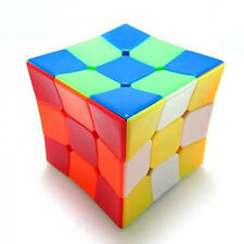 Z-Cube Odd Shape Concave Surface  Stickerless Puzzle Cube 3x3