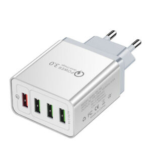 Premium USB Ladegerät Netzteil Quick Charge Schnell Kabellos Qi Wireless QC 3.0
