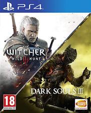 The Witcher 3: Wild Hunt & Dark Souls III PS4