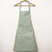 Kitchen Striped Apron Chefs Fashion Catering Cooking Baking Craft Apron D