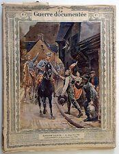 La Guerre Documentée n°7- 1914-15 : Couverture A. Lalauze - 9 Planches