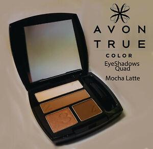 Avon True Color Eyeshadow Quad, Mocha Latte