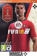 FIFA 18 - Juego base para PC EA ORIGIN - región libre clave de descarga - ES