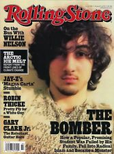 lcw Rolling Stone Magazine Boston Bomber Dzhokhar Tsarnaev 2013 No Mailing Label