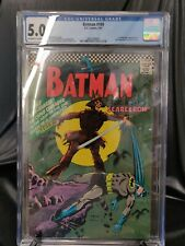 BATMAN #189 CGC 5.0 1ST APPEARANCE SCARECROW KEY FREE FAST SHIPPING DC 1967