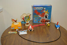 Vintage 1974 Mattel SNOOPY & His Flyin' Doghouse Peanuts Schulz #8263