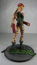 Street Fighter Round 1 CAMMY Player 1 Green Camo Action Figure ReSaurus Capcom