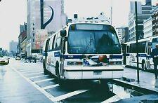 Original Kodachrome Slide Nyc Bus 1999 Nova-Rts #5130 M-103 4 Ave-E 8 St 4/12/03
