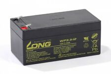 Akku kompatibel SJ12V3.3Ah 12V 3,3Ah AGM Blei Batterie aufladbar wartungsfrei