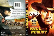 Will Penny ~ New DVD ~ Charlton Heston, Joan Hackett (1968)