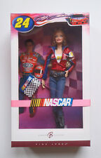 Barbie Collector Jeff Gordon Nascar Doll, Model Muse Blonde Cowboy Boots & Jeans