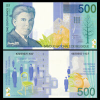 Belgium 500 Francs, ND(1998), P-149, UNC