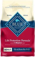 Blue Buffalo Life Protection Formula Natural Adult Dry Dog FoodFish & Brown Rice