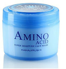New HANAJIRUSHI AMINO ACID SUPER MOISTURE FACE MASK
