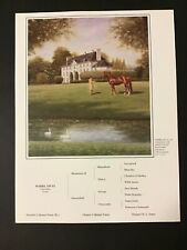 WHIRLAWAY  1941 Kentucky Derby  Photo From oil painting Horse Racing TRIPLE CROW