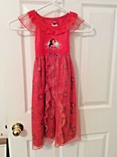 Disney Princess Elena of Avalor Dress Up Halloween Costume Girl Size 4T