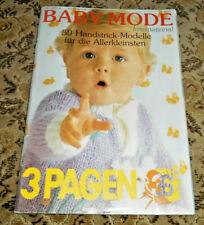 Bambino  von 1991 Baby Kinder Stricken Strickheft Handarbeitsheft