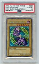 Yu-Gi-Oh 2002 Dark Magician DDS-002 Dark Duel Stories Secret Rare PSA 10 MINT