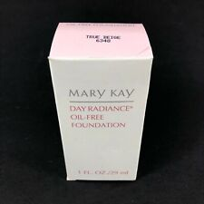 Mary Kay Day Radiance Oil-Free Foundation True Beige 1 oz. 6348 New In Box