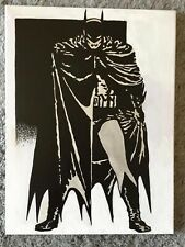 Canvas Painting, 60's, Batman, hand painted,  16x12 inch Acrylic