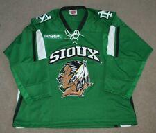 North Dakota Fighting Sioux K1 Hockey Jersey Medium Blank WCHA UND