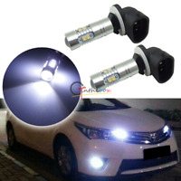 2pcs 8000K Light-blue HID Color 881 886 889 10-CREE LED Bulbs For Car Fog Lights