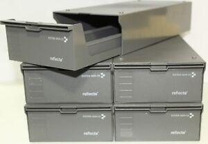 5 Stück Reflecta CS-Magazinbox 2x100 + 10 CS-Magazine Diamagazin Stapelbox