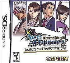 Phoenix Wright Ace Attorney 3 Trials & Tribulations Nintendo DS 2DS NDS UK Relas