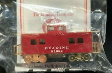 Ltd Edition The Reading Company Red Train Caboose Ornament 2001 New