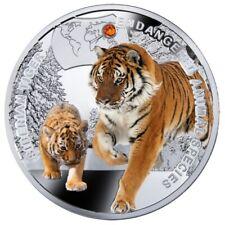 2014 Niue Island Sibirischer Tiger Silver Coin