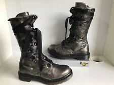 Dr. Martens Corset Metallic Bronze/ Silver UK4 EU37 Mid Calf Women's Boots