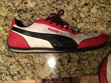 RETRO BLACK RED PUMA JAZZY SHOES PACKED AWAY FOR YEARS SUPER KOOL NICE CONDITION