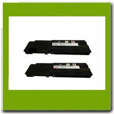 2PK NON-OEM Dell 331-8429 BLACK  HY Toner FOR  Dell W8D60 C3760 C3765