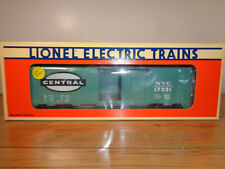 LIONEL O GAUGE # 6-17225 NEW YORK CENTRAL BOX CAR - FACTORY PAINT ERROR - W/BOX