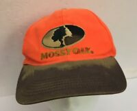 Mossy Oak Baseball Hat Cap Archery Hunting Shooting Outfitter Orange/Green-RARE