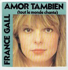 France GALL Vinyle 45T SP AMOR TAMBIEN - LA FILLE DE SHANNON - ATLANTIC 11727 EX