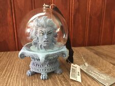 Disney Haunted Mansion Crystal Ball Madame Leota Light Up Halloween Ornament New