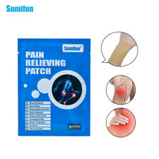 Sumifun 8Pcs Pain Relieving Patch Back Muscle Massage Relaxation Plaster K01601