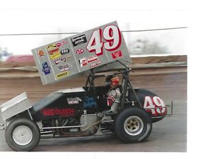 World of Outlaws UNSIGNED Collection of Photographs (7) Wolfgang,Swindell & more