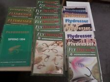 FLYDRESSER - THE JOURNAL OF THE FLYDRESSERS GUILD - 20 issues 1994 - 2000
