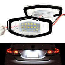 2PCS License Plate LED Light Lamp For 99-14 Honda Civic Accord Acura TL TSX MDX
