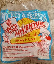 McDonalds Happy Meal Mickey Mouse USA Toy Adventures At Walt Disney World 1993