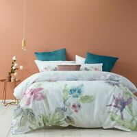 Bianca Zaylee Mauve Quilt Cover Set   Tailored edge   Double