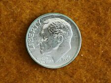 1961 Roosevelt Silver Dime-PROOF-